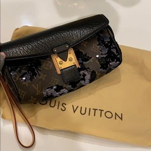 Louis Vuitton RARE Manege purse clutch limited ed